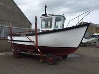 Ip 24. Fishing boat