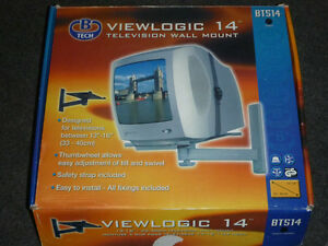 "Viewlogic 14"" Television Wall Mount Bracket"