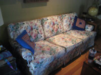 Moving sale! Couch, desk, tv, lay-z-boy