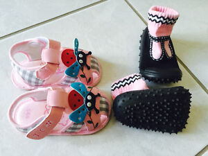 Baby girl learn to walk shoes