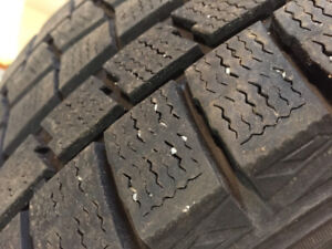 195/55R16 Winters Lots of Tread