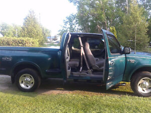 1999 Ford F-150 XLT Lariat Pickup Truck Parts for sale