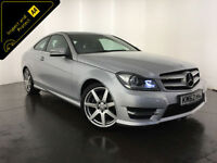 2012 62 MERCEDES C220 AMG SPORT CDI DIESEL COUPE 1 OWNER FINANCE PX WELCOME