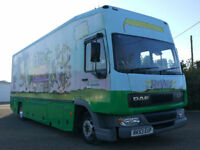 DAF FA LF45.150 MOBILE LIBRARY EXHIBITION CAMPER MOTORHOME CONVERSION BUS TRUCK