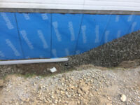 Weeping tile Foundation and Excavator Services