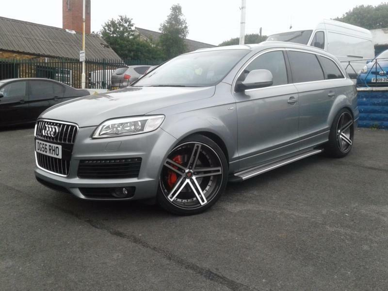 2006 56 audi q7 3 0tdi auto quattro s line must see massive spec in stoke on trent. Black Bedroom Furniture Sets. Home Design Ideas