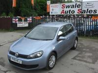 2010 VOLKSWAGEN GOLF S 1.6TDI ONLY 41,179 MILES, £30 A YEAR TAX