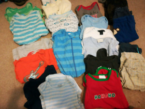 3-6 month baby boy lot (20+ pieces)