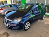2009 Vauxhall Zafira 1.6i 16v VVT ( 115ps ) Life+Long MOT 03/201+1 keeper