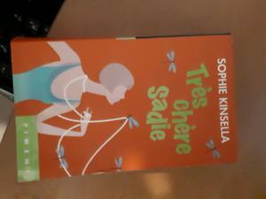 Livre très chère Sadie