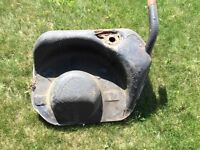 Porsche 911 1971 gas tank needs to be blasted and painted