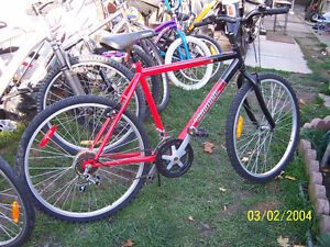 SELECTION OF LIKE NEW ADULT MANS AND LADYS BIKES
