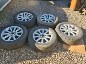 JEEP GRAND CHEROKEE 5 ALLOY WHEELS WITH TYRES