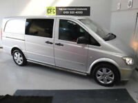 2014 Mercedes-Benz Vito Dualiner CREW VAN, BUY FOR ONLY £60 A WEEK *FINANCE*