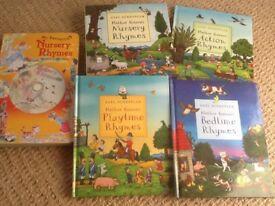 Axel Scheffler (of Julia Donaldson book fame) collection with nursery rhymes book and CD.