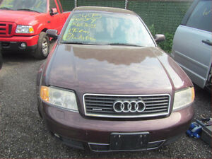 PARTING OUT AUDI A6 2004, 4.2 Automatic Wide Body, AWD
