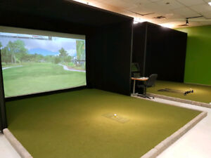 Commercial Golf Simulators by Trugolf