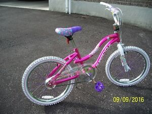 A mint condition girls' bicycle