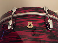 Ludwig Keystone Red Oyster Pearl PowerBeat drums - almost new