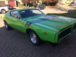 1971 charger 440 4 spd Windsor Region Ontario image 5