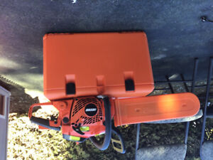Chainsaw and case