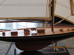 NEW wooden big yacht scale ship model, great detailed West Island Greater Montréal image 4