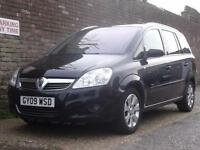 Vauxhall/Opel Zafira 1.6i 16v 115 Breeze Plus 2009(09) 7 Seater MPV