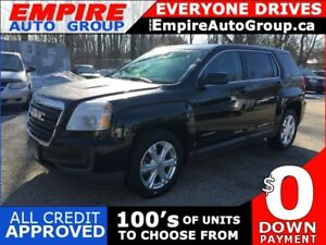 2017 GMC TERRAIN SLE-1 * AWD * REAR CAM * BLUETOOTH * SAT RADIO