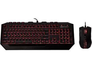 CM Storm Devastator - LED Gaming Keyboard and Mouse Combo Bundle