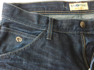 Energie Jeans from Italy, straight cut heavy denim 34x32