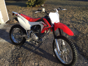 2015 Honda crf 125 big wheel