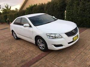 2007 Toyota Aurion Low KM 1 Year Rego 2 keys A1 Condition Car Mount Druitt Blacktown Area Preview
