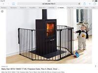 BabyDan Flex 5 Hearth Gate – Black