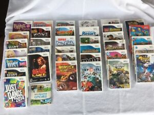 Nintendo Wii games (36 games) and accessories