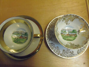 Bone China Tea Cups & Saucers, Exquisite! Lovely! Collectible! London Ontario image 6