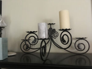 Fireplace Hearth Candle Holder