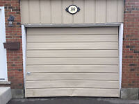 Timely & reliable service for your garage door or opener *