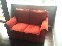 Sofa Workshop Previn Small 144cm Red