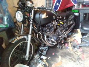 81 cb900c bobber project