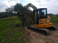 Excavator with Skilled Operator for hire