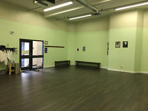 Commercial Space for Rent! Dance, Yoga, Fitness, Camps.