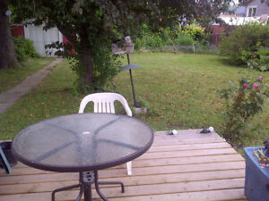 May 1st - $900 Inclusive, pvt fenced yard, waterfront trail