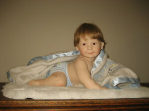 6 Adorable Ashton Drake Porcelain Dolls by Titus Tomescu Strathcona County Edmonton Area image 1