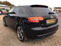 2010 Audi A3 2.0 TDI Black Edition S Tronic 3dr