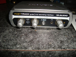 M-Audio Fast Track  Interface d'enregistrement