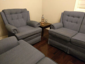 2 Couches and Matching Chair