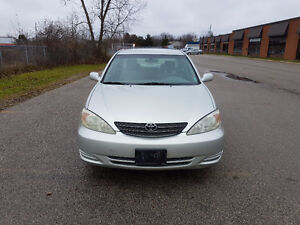 2003 Toyota Camry NO ACCIDENTS / SAFETY / E-TEST / WARRANTY London Ontario image 4