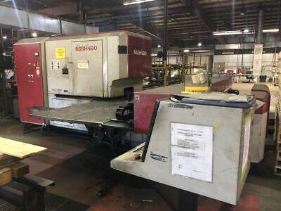 Nisshinbo Hiq-1250 30 Ton Cnc Turret Punch Press