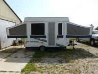 Very well maintained 2010 Jayco tent trailer in great condition.