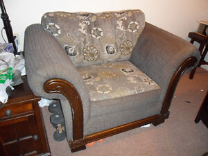 Wing-Style chair for sale.
